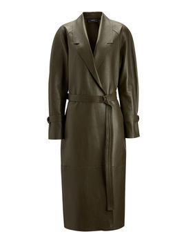 Solferino Double Leather Coat by Joseph
