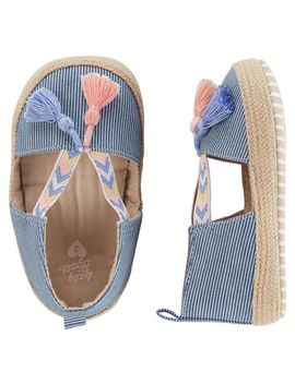 Osh Kosh Espadrille Crib Shoes by Oshkosh