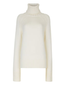 High Neck Sloppy Joe Knit by Joseph