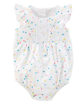 Polka Dot Sunsuit by Oshkosh