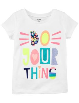 Do Your Thing Jersey Tee by Oshkosh