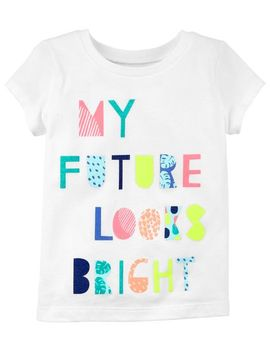 My Future Looks Bright Jersey Tee by Oshkosh