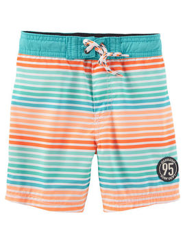 Osh Kosh Stripe Swim Trunks by Oshkosh