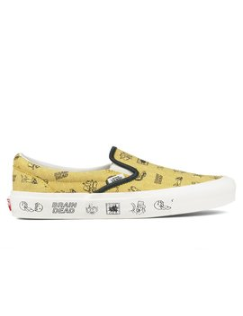 X Brain Dead Classic Slip On Lx by Vans Vault