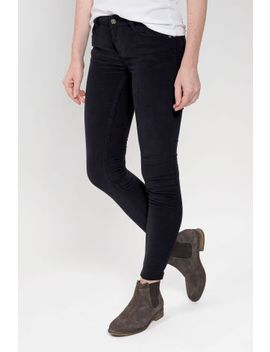 Fat Face Black Five Pocket Cord Jegging by Next