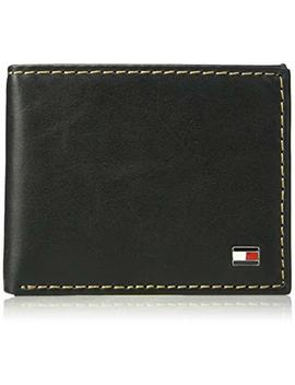 Tommy Hilfiger Men's Rfid Blocking 100 Percents Leather Passcase Wallet by Tommy+Hilfiger
