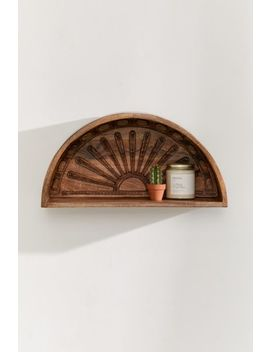 Sunset Wooden Wall Shelf by Urban Outfitters