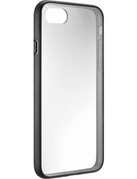Hardshell Case For Apple® I Phone® 7 And 8   Clear And Black by Insignia™