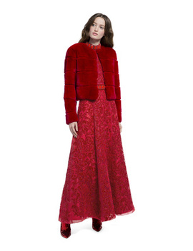 Theon Cropped Coat by Alice And Olivia