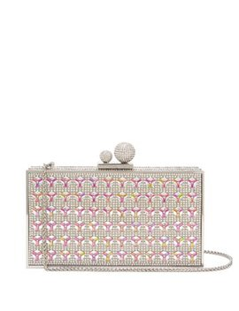Clara Crystal Embellished Clutch by Sophia Webster