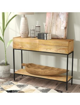 Union Rustic Sterner Rectangle Console Table & Reviews by Union Rustic