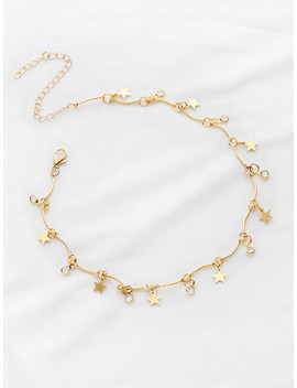 Star Detail Choker Necklace by Sheinside
