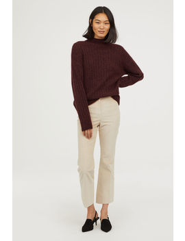 Ankle Length Corduroy Pants by H&M