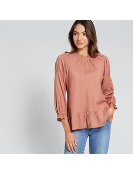 Pretty Gathered Blouse by Seed Heritage