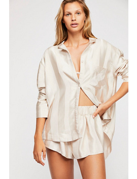 Dot Your I's Pajama Top by Free People