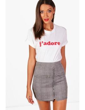 Tall J'adore Slogan T Shirt by Boohoo