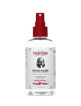 Thayers Natural Remedies Alcohol Free Rose Petal Witch Hazel Facial Mist Toner, 8 Ounce by Thayers