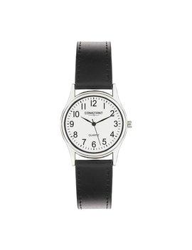 Constant Men's Quartz Black Strap Watch by Argos