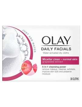 Olay Daily Facials 5 In1 Dry Cloths   Normal Skin by Olay