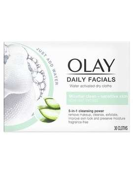 Olay Daily Facials 5 In1 Dry Cloths   Sensitive Skin by Olay
