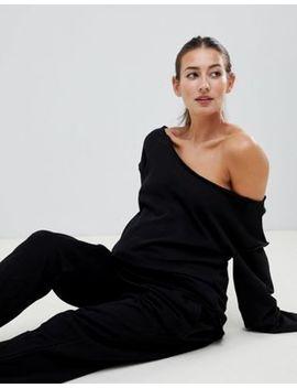Asos Design Maternity Raw Edge Sweat by Asos Design