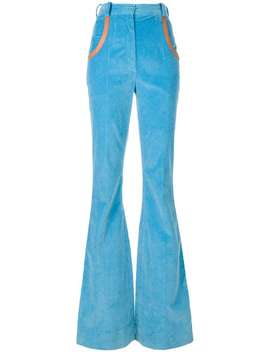 High Waisted Flared Trousers by Nina Ricci