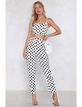 What's Dot Into You Polka Dot Pants by Nasty Gal
