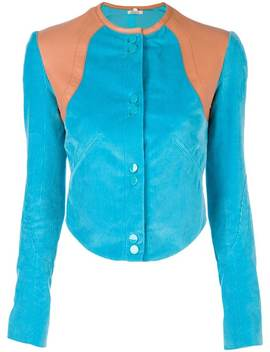 Cropped Fitted Jacket by Nina Ricci