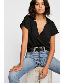 We The Free Pop Your Collar Tee by Free People