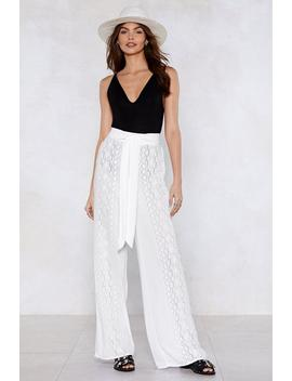 Summer Breeze Wide Leg Pants by Nasty Gal