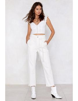 Come Clean High Waisted Jeans by Nasty Gal