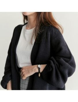 Open Front Cardigan by Annie's Town