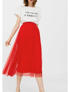 Tulle Skirt by Mango