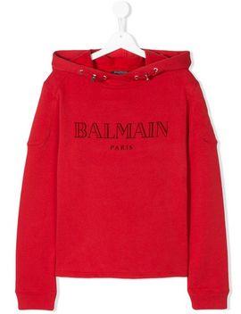 Teen Logo Printed Hoodiehome Kids Teen Boy Clothing Teen Hoodies & Sweatshirts by