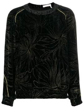 Chloéembroidered Floral Blousehome Women Chloéclothing Blouses by Chloé