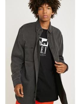 Cheap Monday Conduct Black Wash Denim Shirt by Cheap Monday