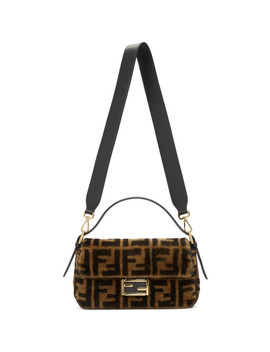 Brown 'forever Fendi' Baguette Bag by Fendi