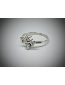 Honey Bee Ring/925 Sterling Silver/Dainty Bee Ring/Artisan Created/Multi Sizes/Dainty Bee Ring by Judys Jewelry Basket