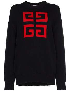 Givenchy4 G Emblem Jumperhome Women Givenchy Clothing Knitted Sweaters by Givenchy