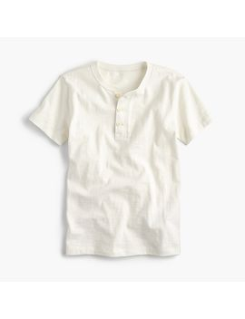 Boys' Short Sleeve Henley Shirt by J.Crew