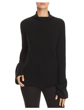 Bell Sleeve Cashmere Sweater by Theory