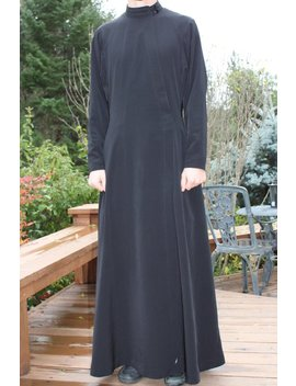 To Order  Russian Style Cassock Black. by Liturgical Vestments