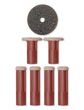 Replacement Discs   Red (Very Coarse) by Pmd
