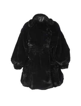 Full Sleeve Faux Fur Biker Coat by Simone Rocha