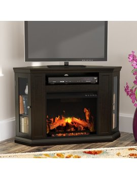 Alcott Hill Dunminning Corner Tv Stand With Fireplace & Reviews by Alcott Hill
