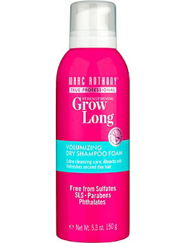 Grow Long Dry Shampoo Foam by Marc Anthony