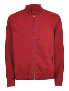 Red Side Stripe Harrington Jacket by Topman