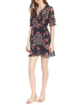 East Floral Wrap Dress by The Fifth Label