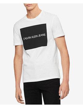Men's Logo Graphic T Shirt by Calvin Klein Jeans