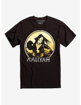 Aaliyah Gold Photo T Shirt by Hot Topic